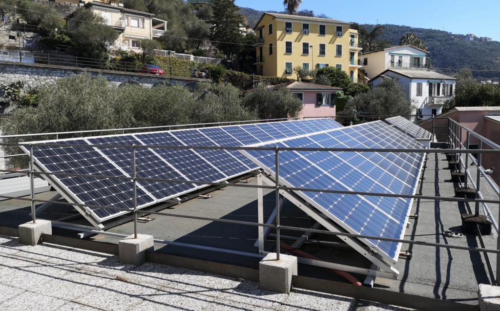 Residenza Canevaro pannello fotovoltaico