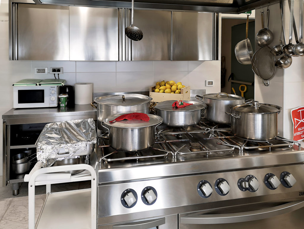Residenza Canevaro cucina